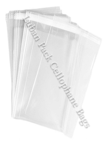 Cellophane Bags, Clear Cellophane Gusset Bags, Heat Sealable